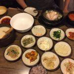 Traditional Korean Meal at Garosu-gil