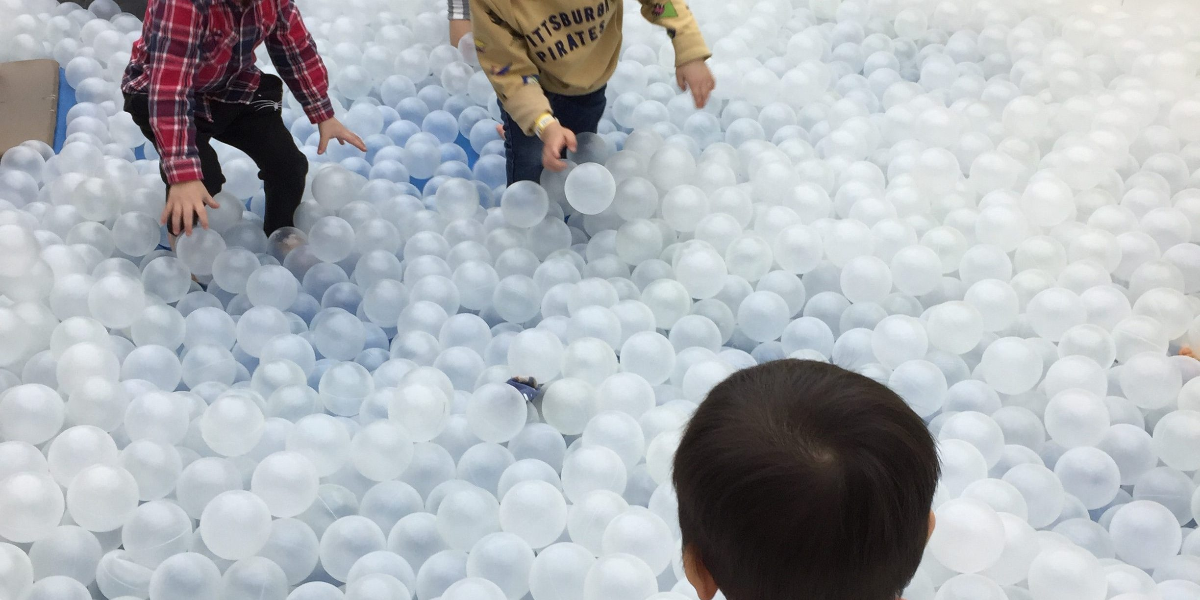Ball Pit at Pororo Lounge