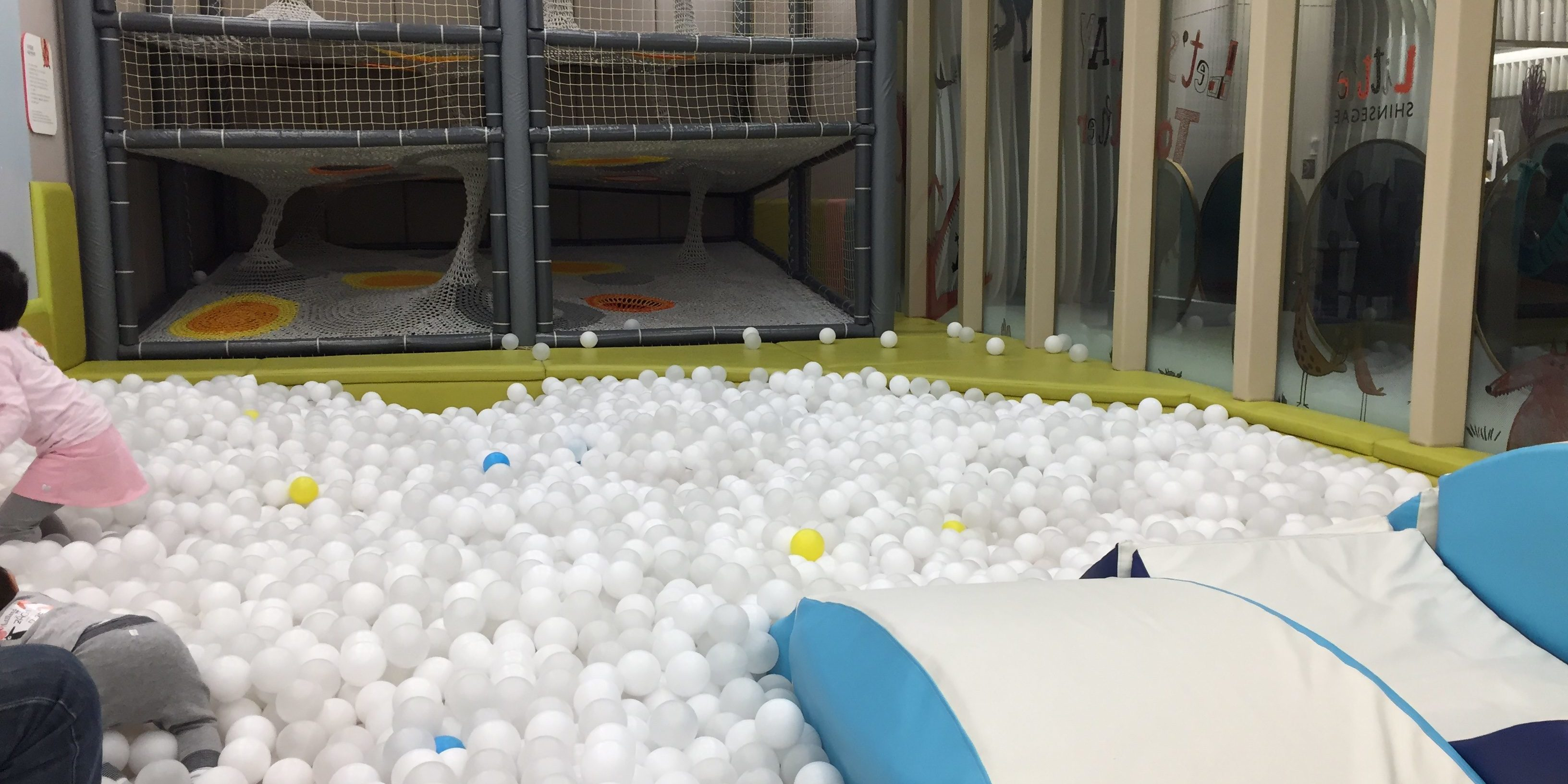Ball pit kids cafe toddler Seoul